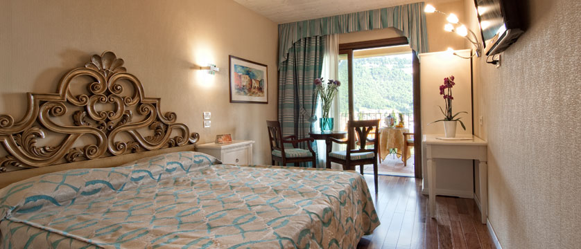 Villa Madrina Hotel, Garda, Lake Garda, Italy - Double bedroom with balcony.jpg